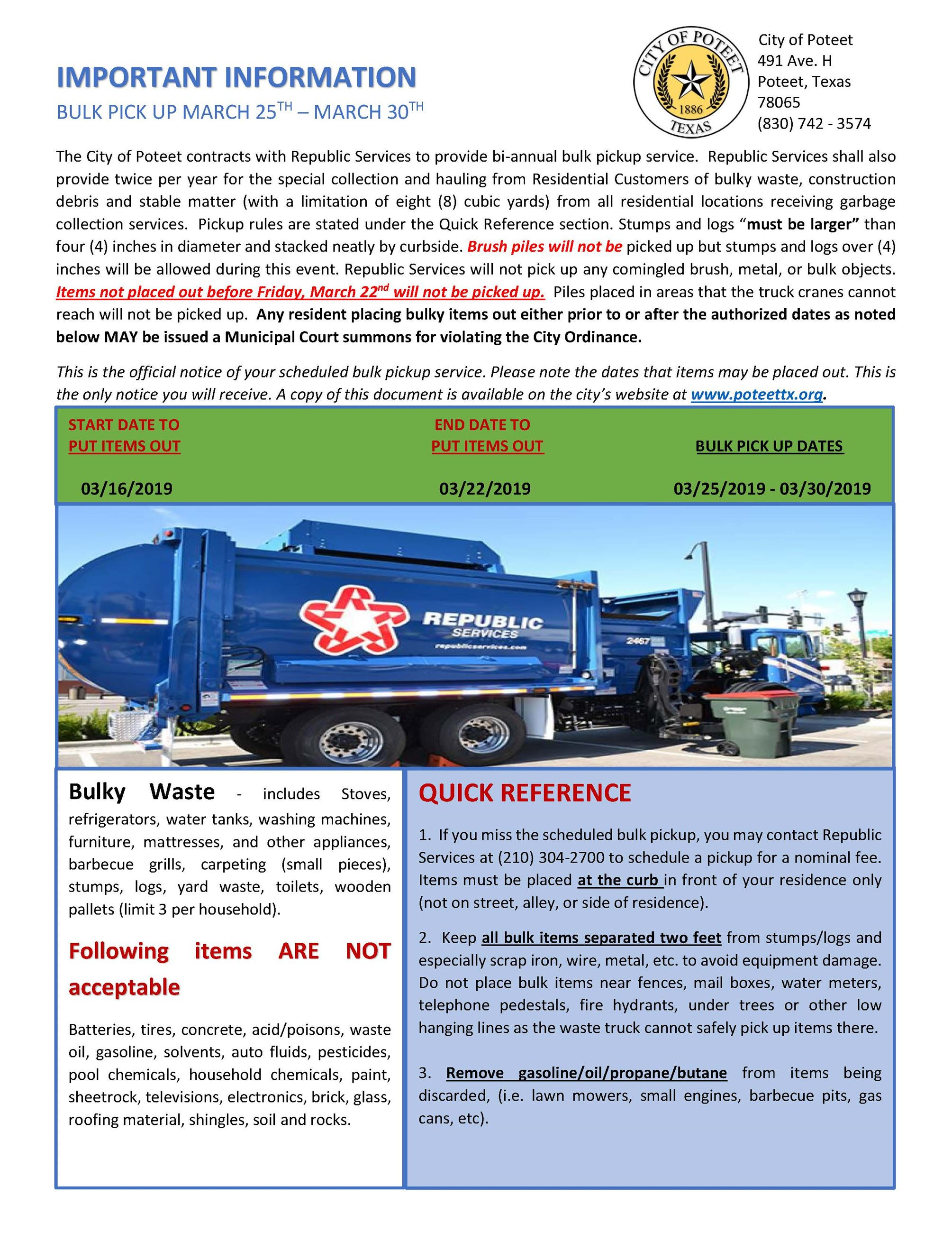 Poteet, TX - Official Website
