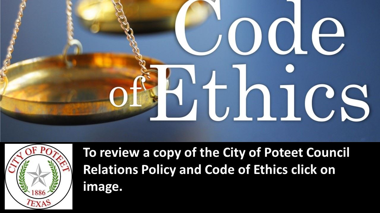 Council Relations and Code of Ethics