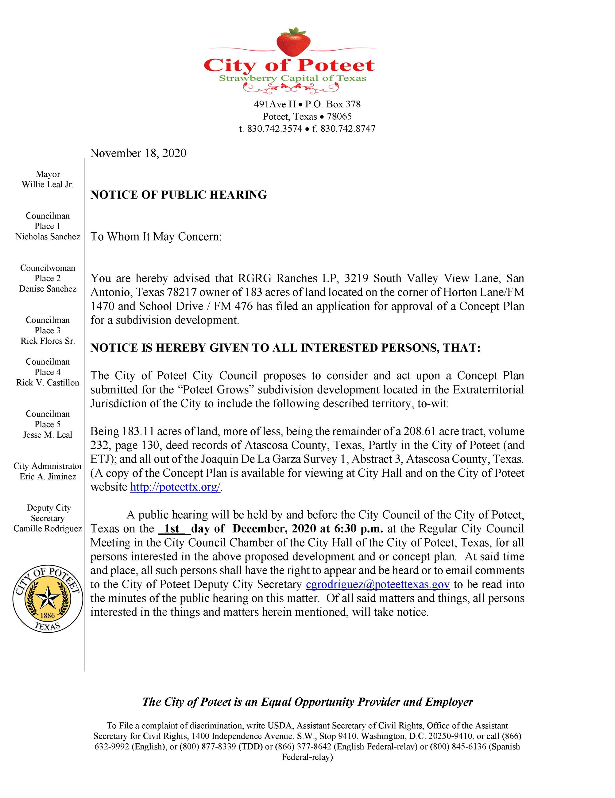 Concept Plan Notice of Public Hearing_11182020